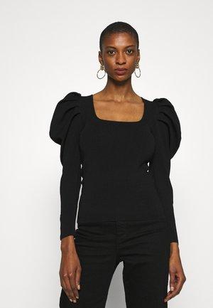 PENELOPEGZ - Long sleeved top - black