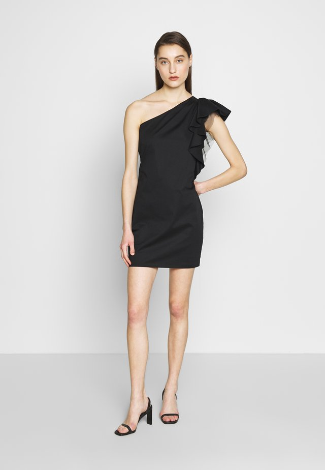 TAYLOR SHORT DRESS - Vestito elegante - black