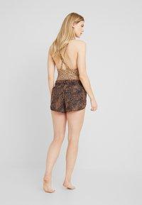 Seafolly - SAFARI SPOT - Bikini bottoms - black - 2