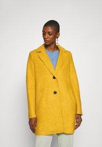 TOM TAILOR - EASY WINTER COAT - Classic coat - california sand yellow - 0