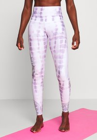 Onzie - HIGH RISE GRAPHIC - Tights - purple - 0