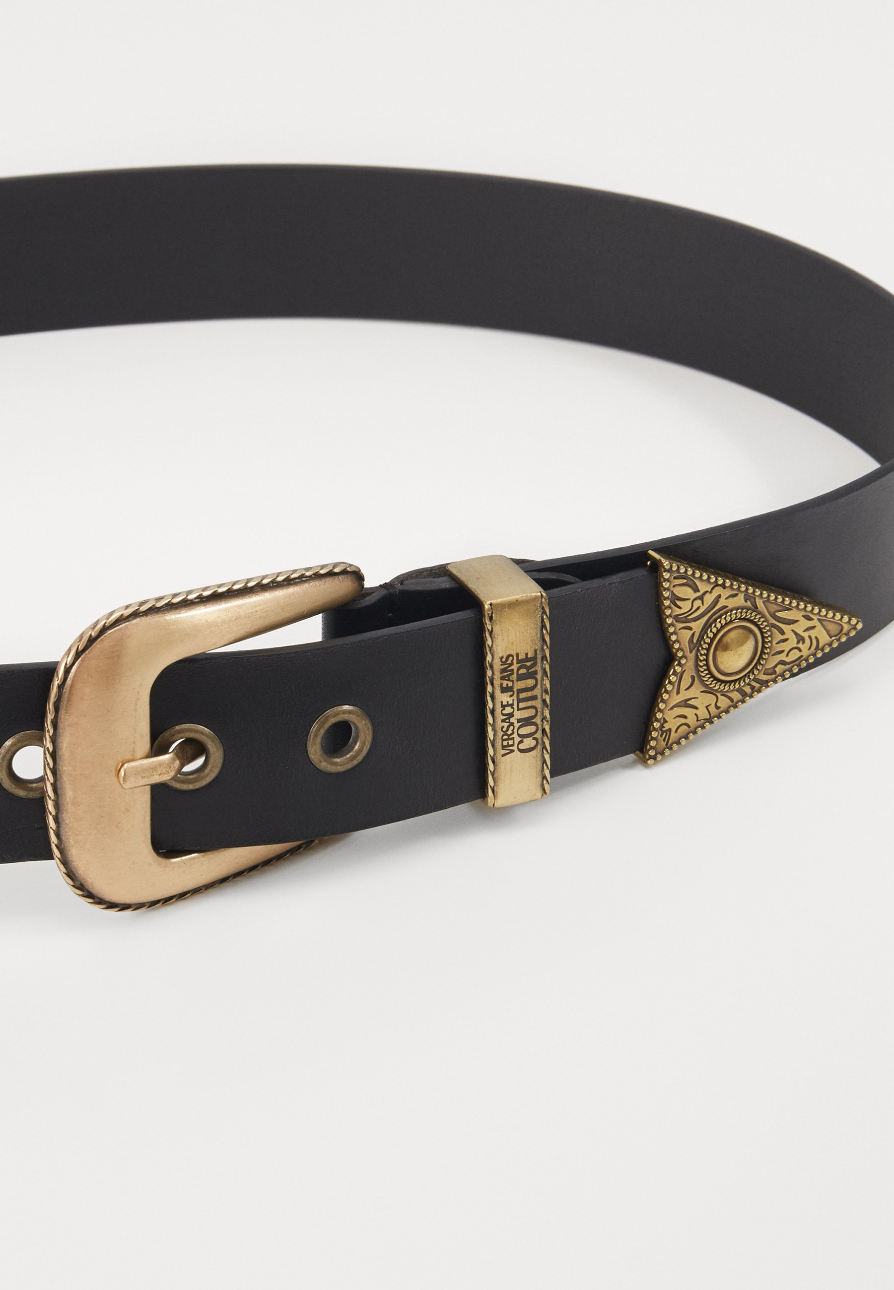 Versace Jeans Couture Belte - black/gold-coloured/svart rpUxr0IcymKgy8r