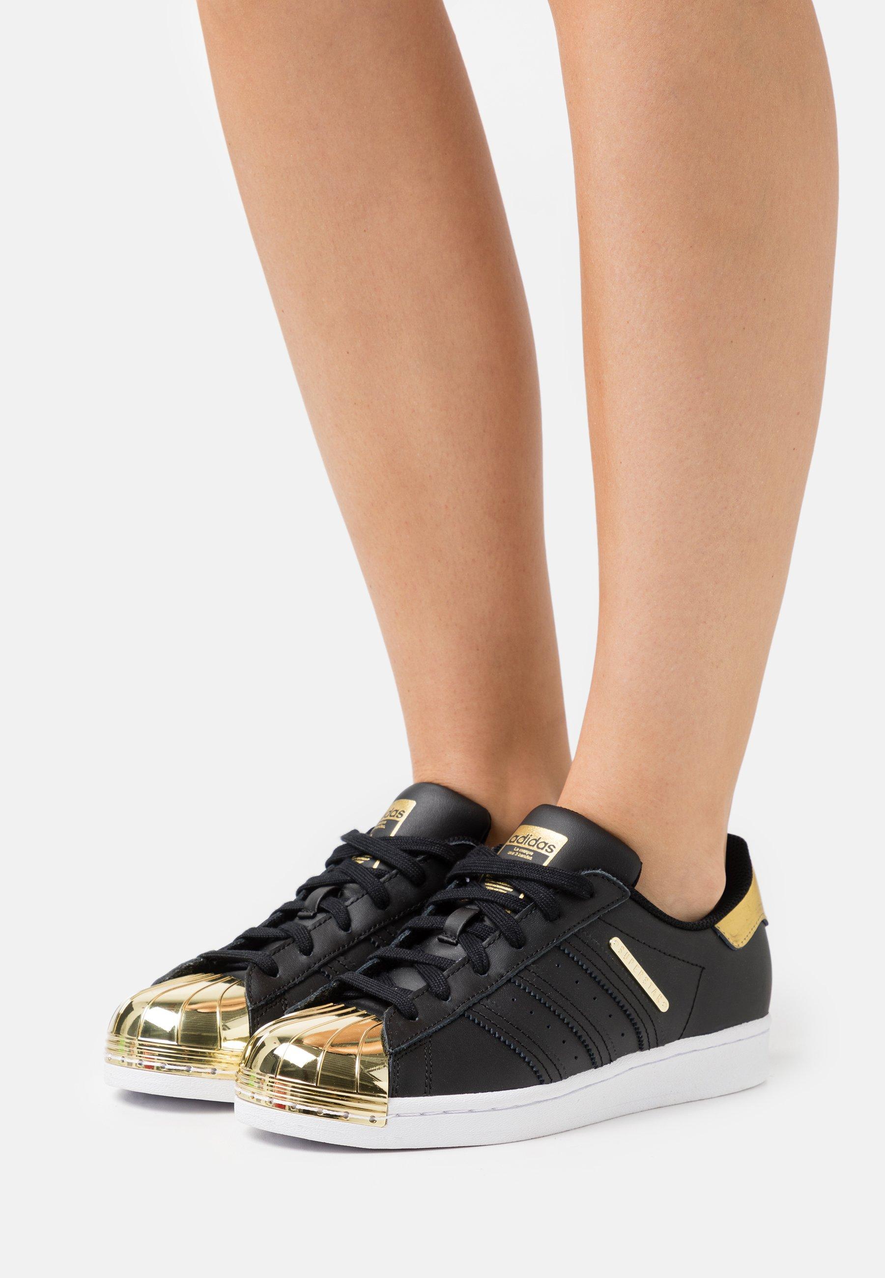 Women SUPERSTAR  - Trainers - core black/footwear white/gold metallic