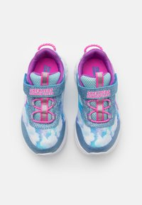Skechers - RAINBOW RACER - Trainers - blue - 3