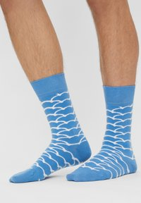 Natural Vibes - CLOUDS SOCKEN AUS BIOBAUMWOLLE - Socks - blue - 1