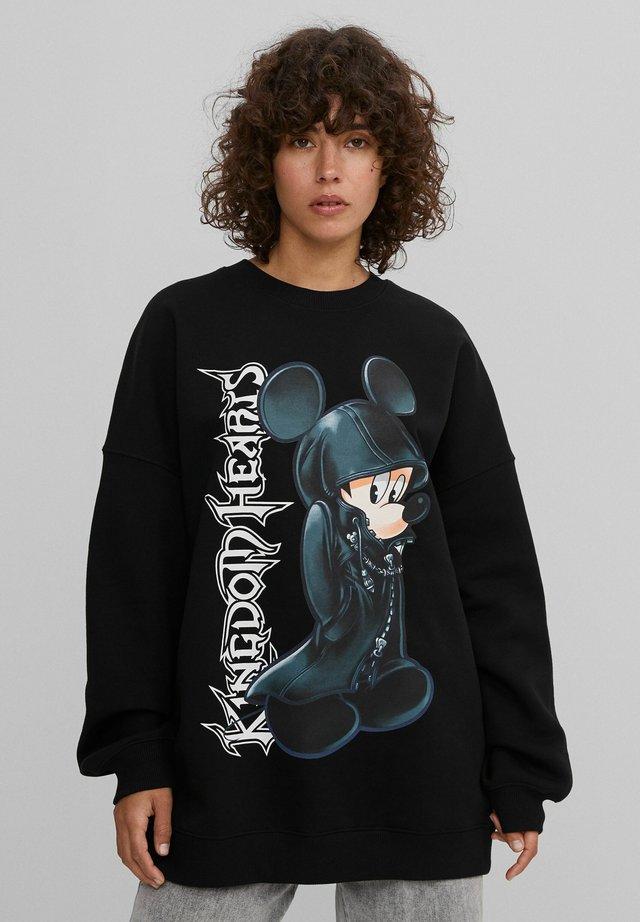 MICKEY KINGDOM HEARTS  - Bluza - black