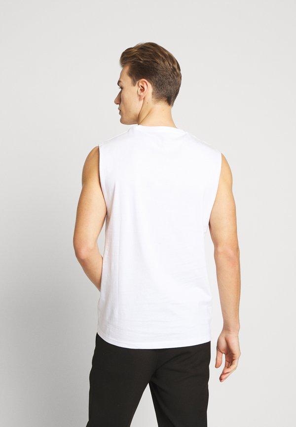 Pier One 3 PACK - T-shirt basic - grey/white/black/szary Odzież Męska KGCB