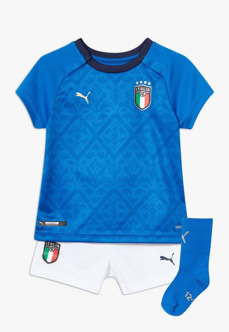 Puma - ITALIEN FIGC HOME BABYKIT SET - Sports shorts - power blue/peacoat