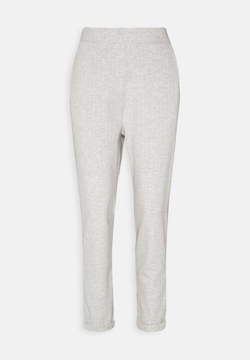 TAPERED TROUSERS WITH TURNED UP HEM