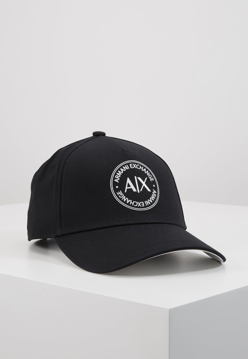 Armani Exchange - BASEBALL HAT - Kšiltovka - black