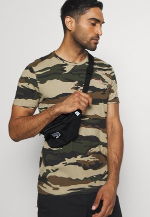 DECK WAIST BAG - Ledvinka - black