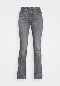 ONLY - ONLPAOLA LIFE FLARE - Flared Jeans - medium grey denim - 3