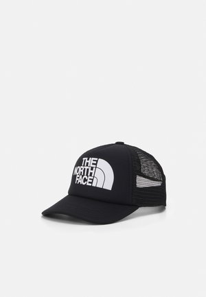 LOGO TRUCKER UNISEX - Pet - black/white