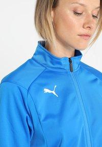 Puma - LIGA - Training jacket - electric blue lemonade/white - 3
