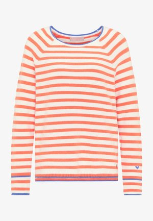 Sweatshirt - mandarin orange