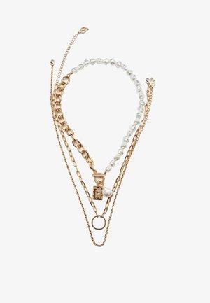 3 SET - Necklace - gold