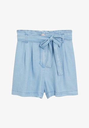 SMART - Denim shorts - bleu clair