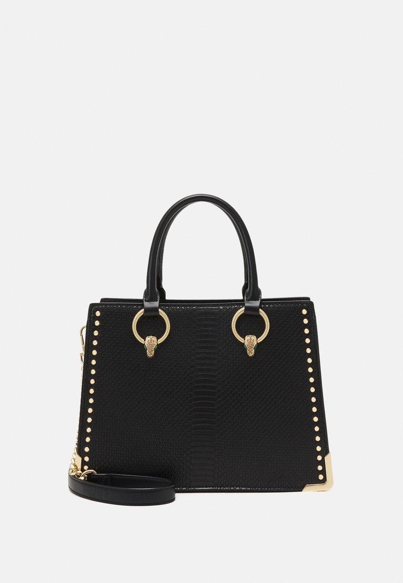 ALDO - NYDIVIEL - Handbag - black/light gold-coloured