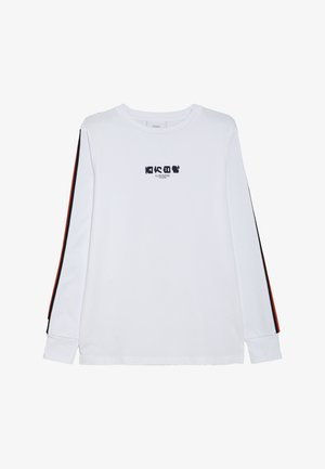 NOUMAN TEE - Long sleeved top - white