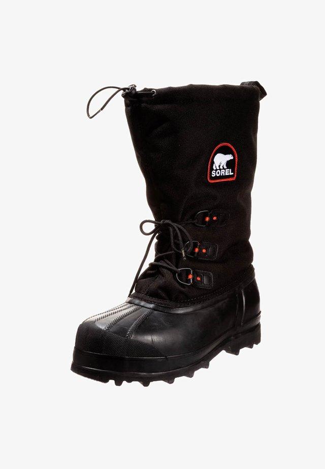 GLACIER - Zimní obuv - black