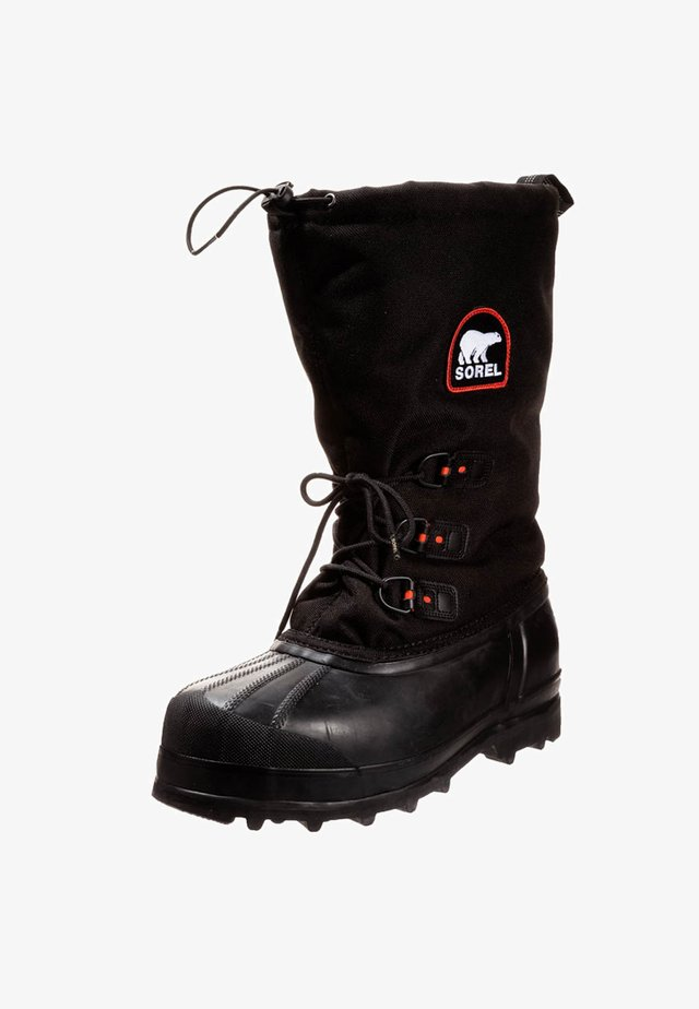 GLACIER - Winter boots - black