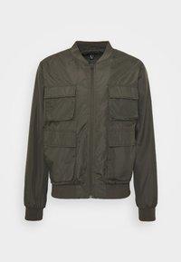 HAIDEN UTILITY  - Lehká bunda - dark khaki