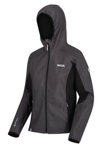 Regatta - AREC  - Soft shell jacket - blkmarl/blak - 0