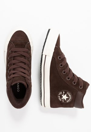 CHUCK TAYLOR ALL STAR BOOT - Sneakers alte - burnt umber/egret