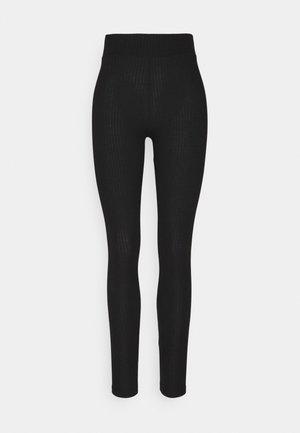 CRIBBI - Leggings - Trousers - black