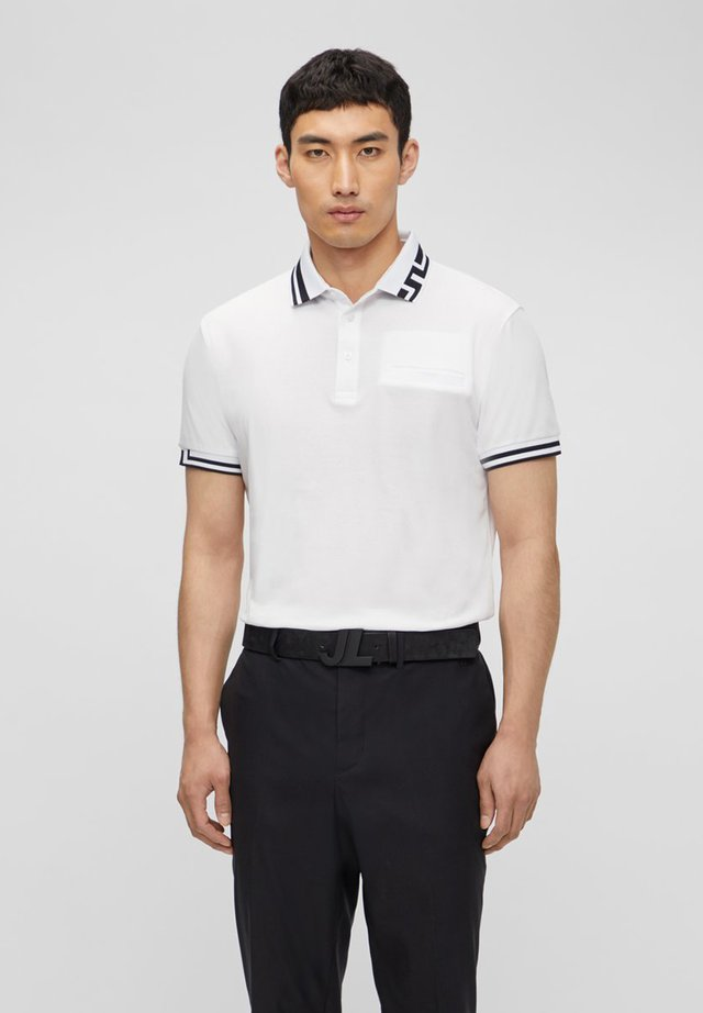 BRUCE REGULAR FIT - Polo shirt - white