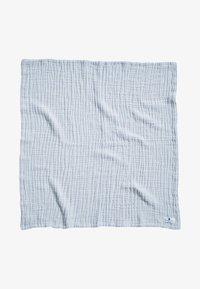Nordic coast company - 4-IN-1 - Muslin blanket - blue - 0