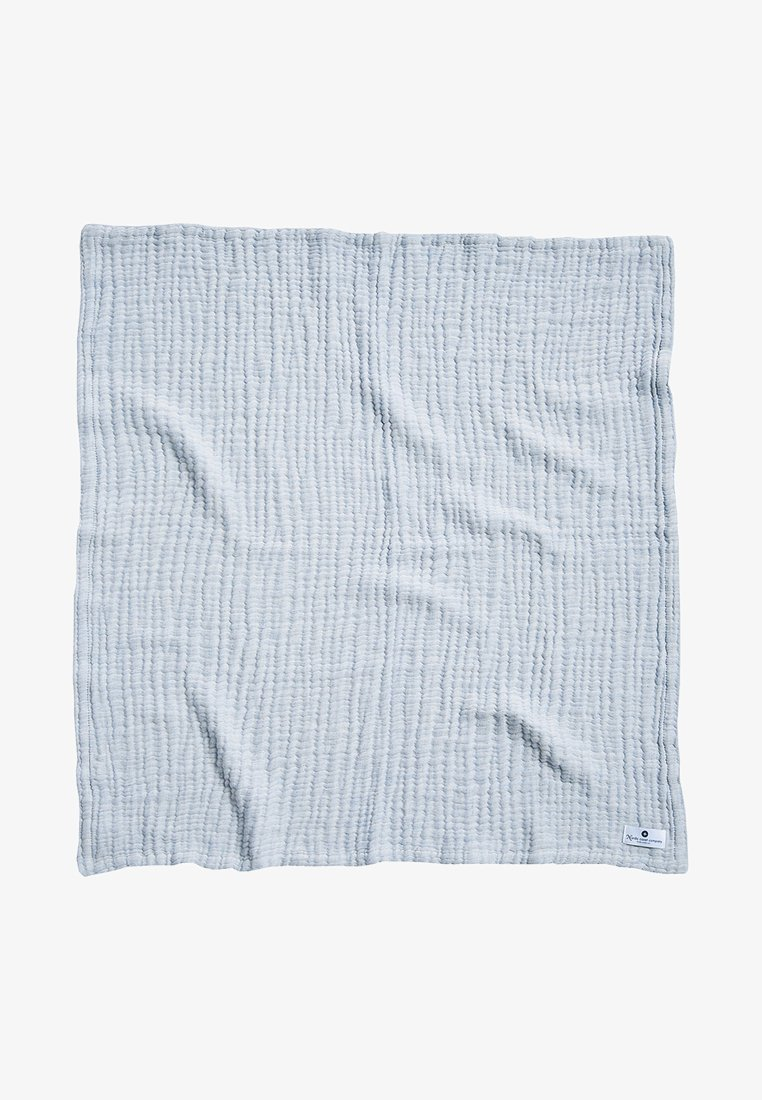 Nordic coast company - 4-IN-1 - Muslin blanket - blue