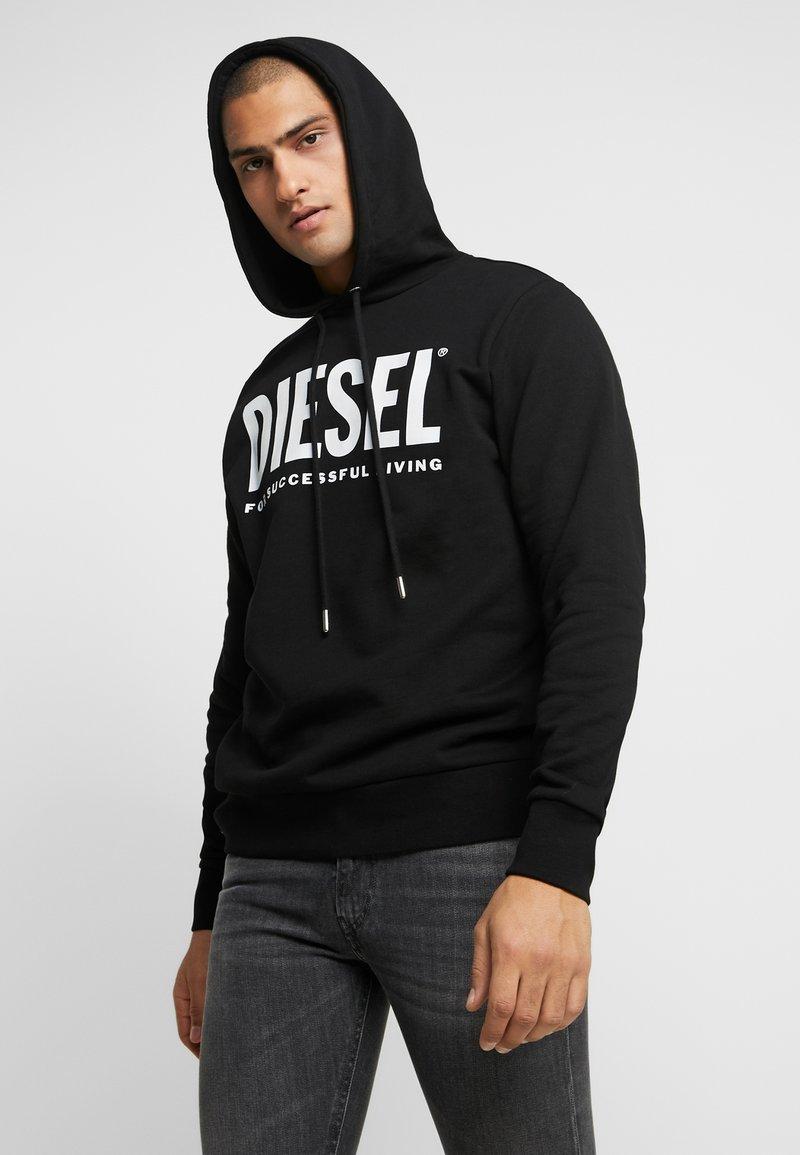 Diesel - HOOD DIVISION LOGO - Hoodie - black