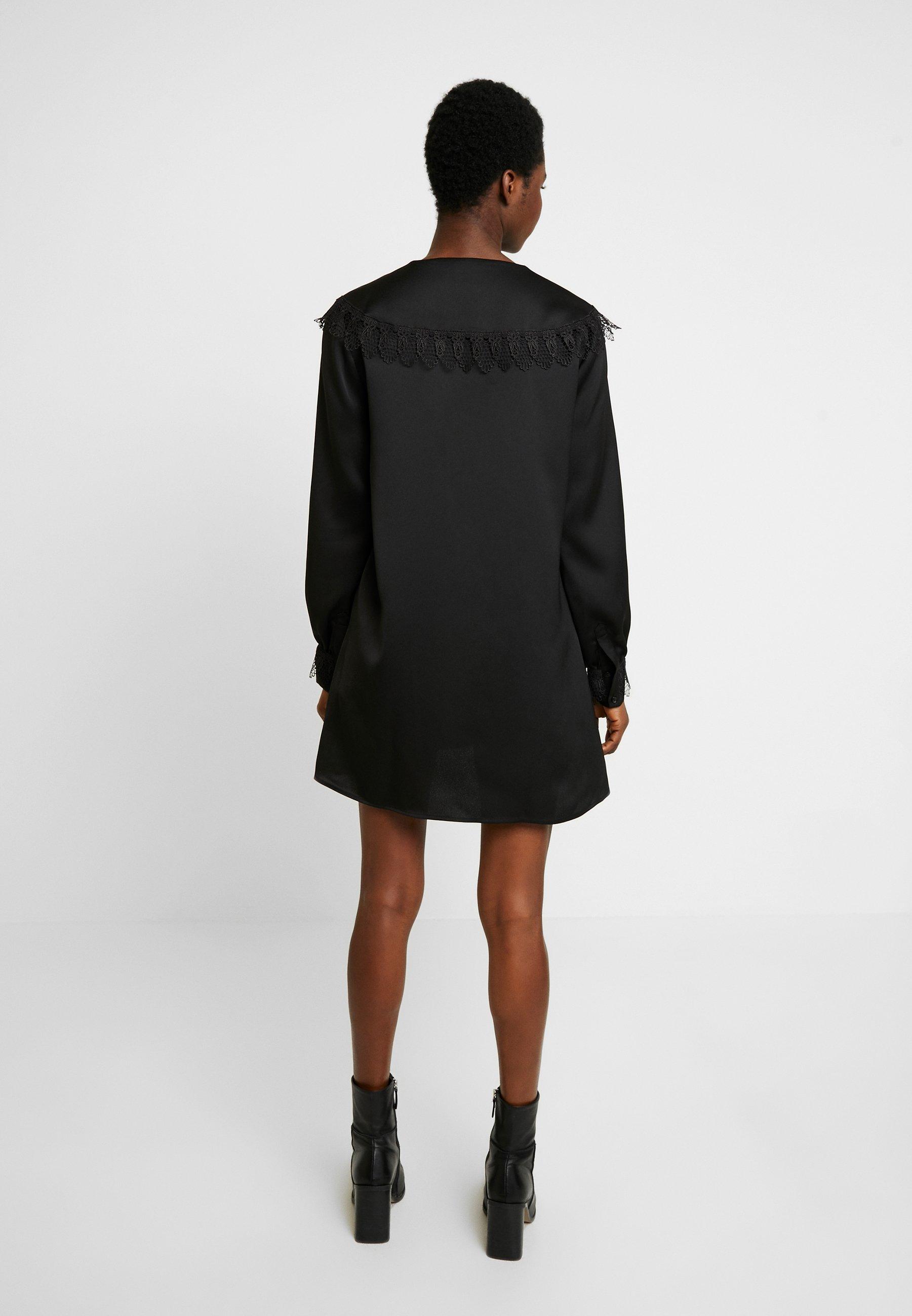 Cras DIA DRESS - Robe d'été - black - Robes femme T8qWL