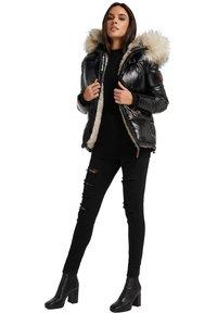 Navahoo - TIKUNAA - Winter jacket - black - 0