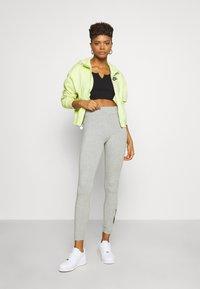 Nike Sportswear - LEGASEE FUTURA - Leggings - Trousers - dark grey heather/black - 1