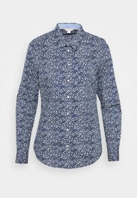 Springfield - Button-down blouse - medium blue - 0