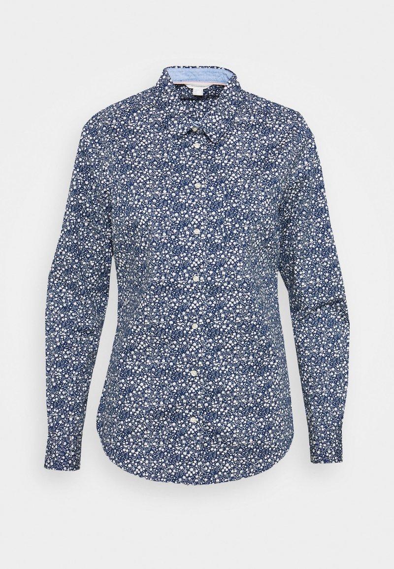 Springfield - Button-down blouse - medium blue