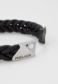 Police - BARNHILL - Náramek - black - 2