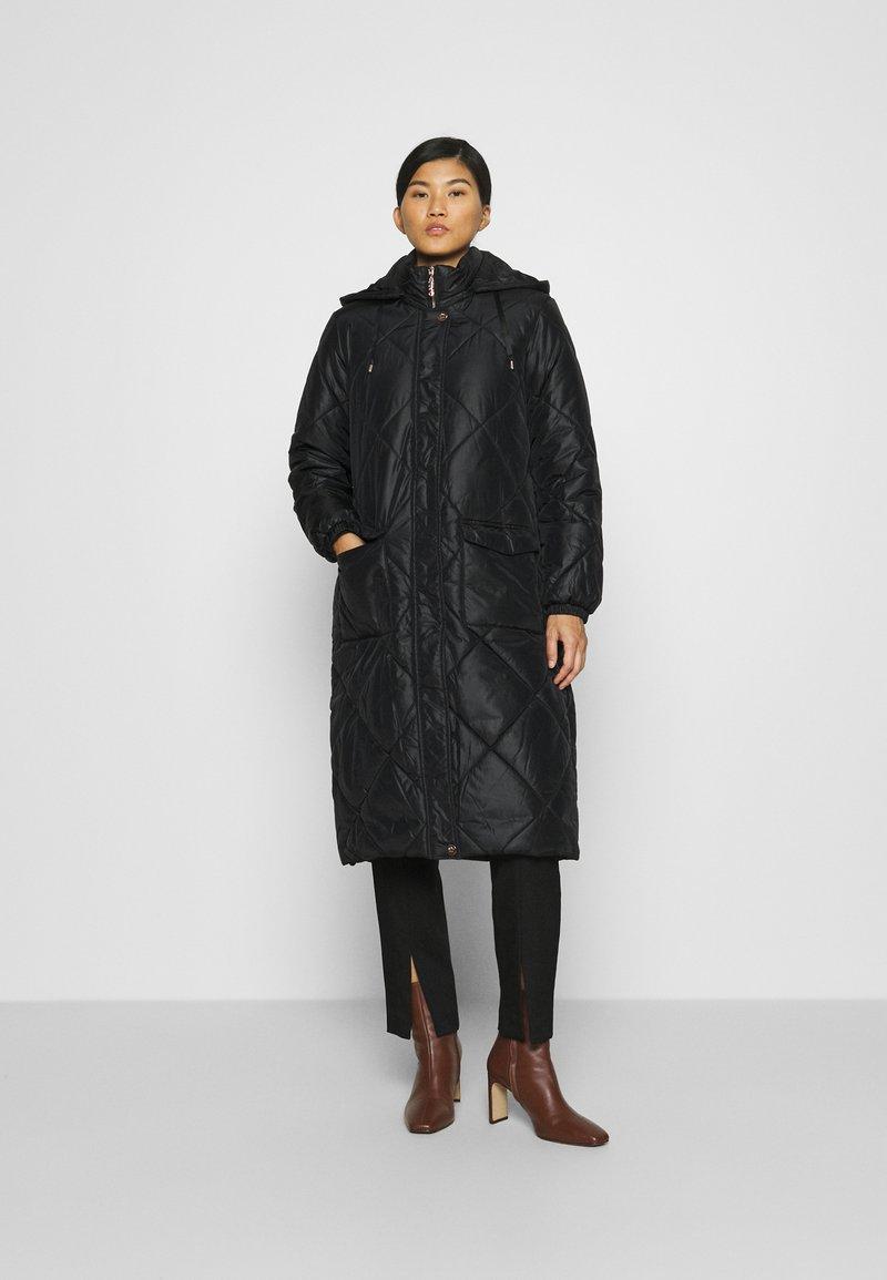 Liu Jo Jeans - IMBOTTITO OVATT LUNGO - Winter coat - nero