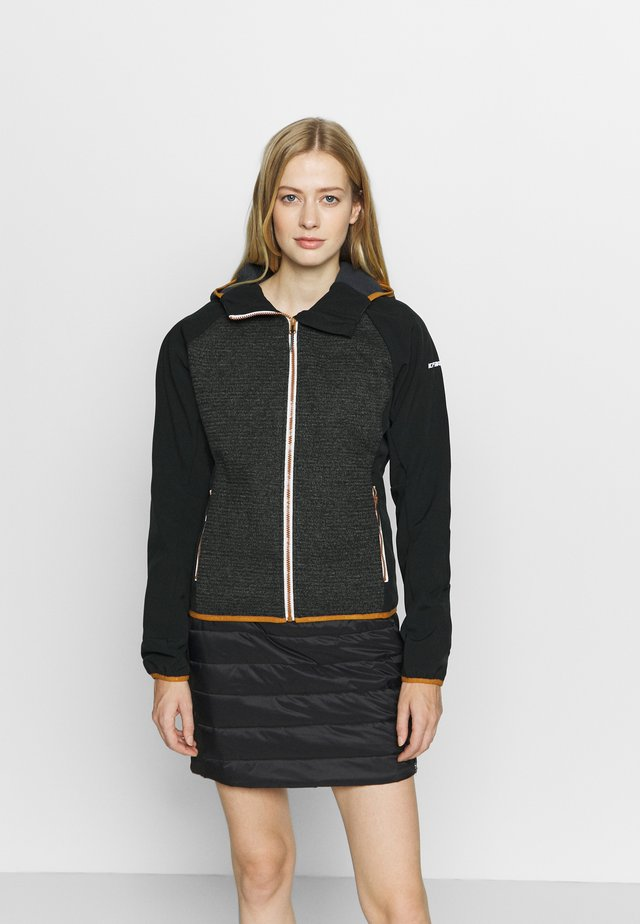 DIMMIT - Giacca softshell - black