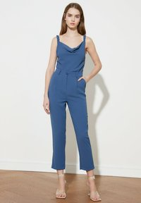 Trendyol - Trousers - blue - 0