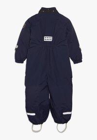 LEGO Wear - JULIAN 711 SNOWSUIT - Talvihaalari - dark navy - 2