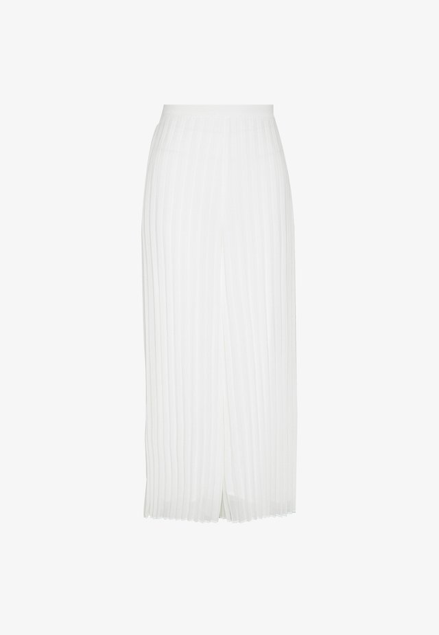 PENNY PLEATED PANT - Trousers - porcelain