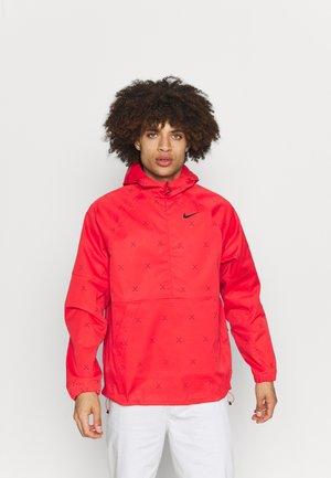 REPEL ANORAK  - Outdoor jacket - track red/black
