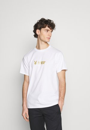 PLAYBOY CLASSIC TEE - Camiseta estampada - white