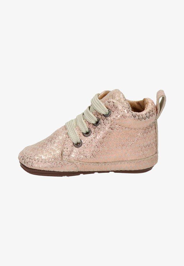 Sneakers hoog - rose goud