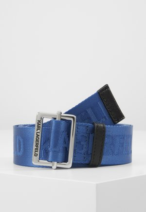 LOGO BELT - Pasek - dark blue