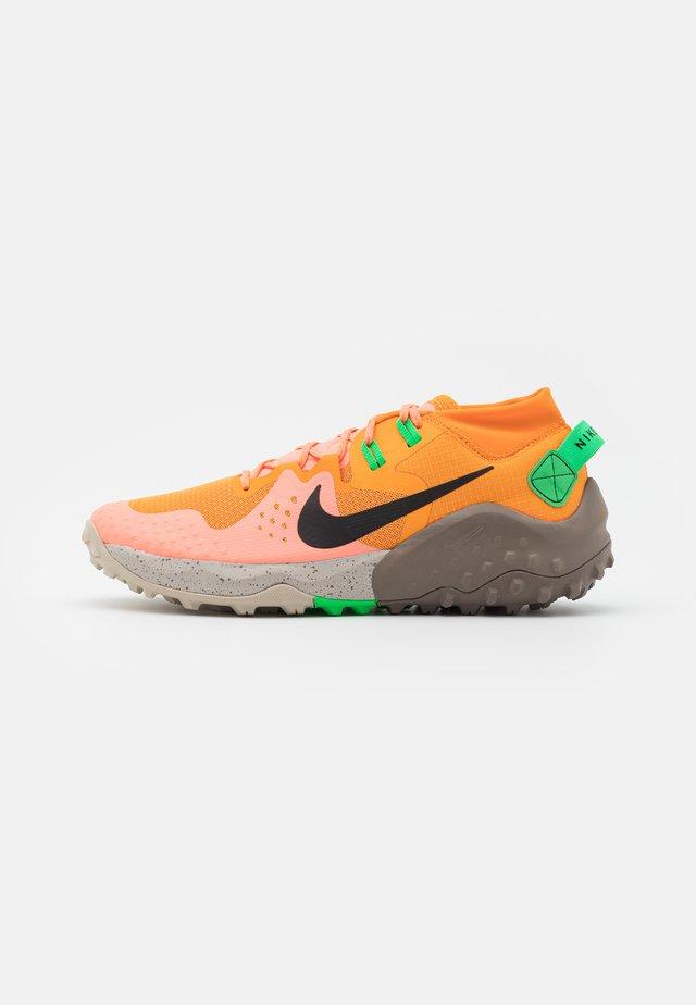 WILDHORSE 6 - Scarpe da trail running - kumquat/green spark/atomic pink/black/olive grey/string