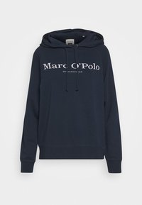 Marc O'Polo - RAGLAN SLEEVE HOODED - Hoodie - dark night - 3
